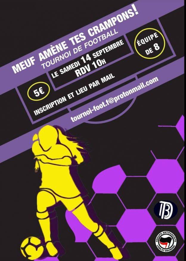 Lyon : tournoi de foot antiraciste et populaire